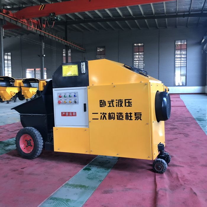 微型细石泵厂家-泊科琪机械制造新款的二次构造柱泵出售