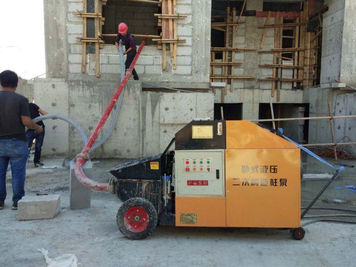 四川微型高压细石泵-价位合理的二次构造柱泵-泊科琪机械制造倾力推荐
