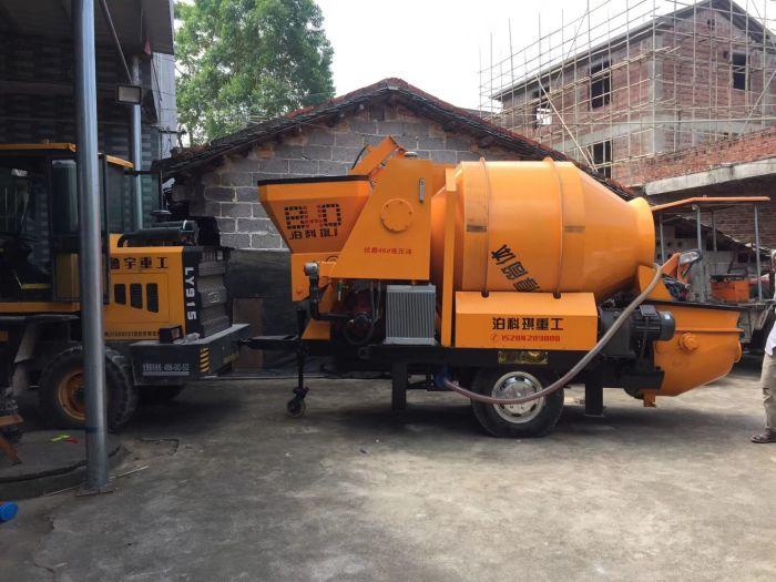 优质搅拌输送一体机_哪里能买到报价合理的混凝土搅拌输送一体泵