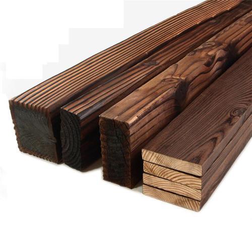 石家庄碳化木景观凉亭-石家庄品牌好的碳化木