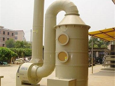 河北昊为专业生产pp喷淋塔 废气处理设备