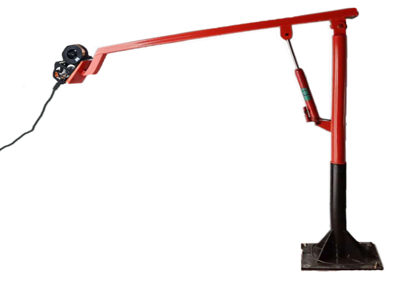 山西来图定制液压支架焊接吸尘臂 助力机械臂折叠旋转型