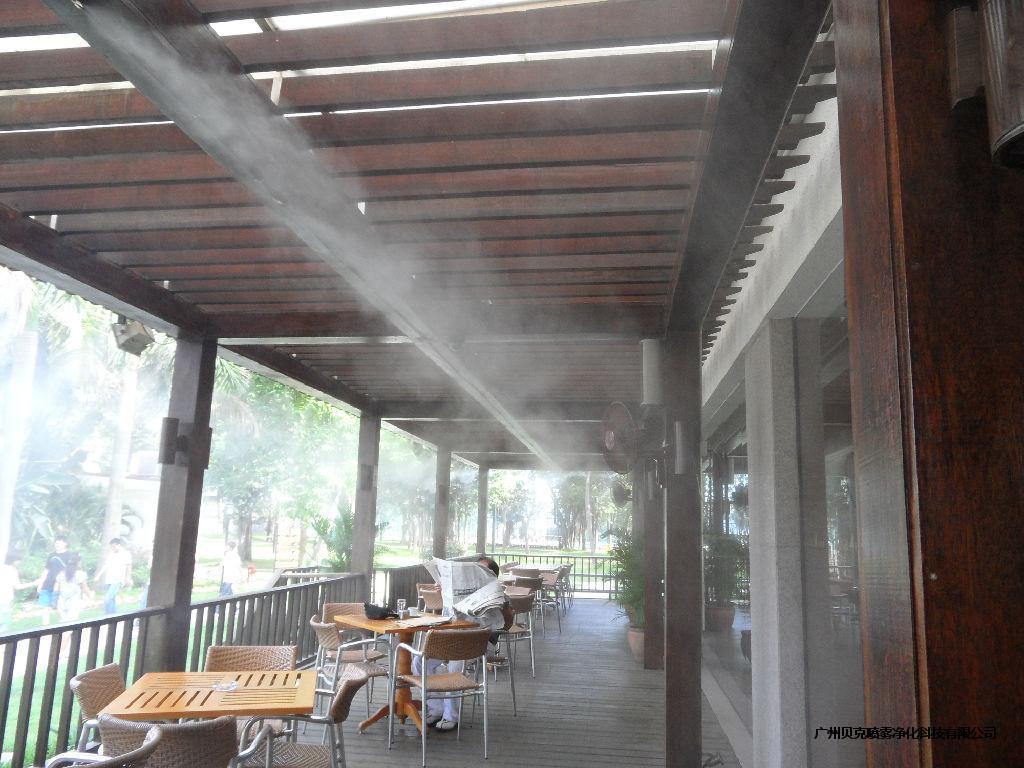 武漢空調外機噴霧降溫設備