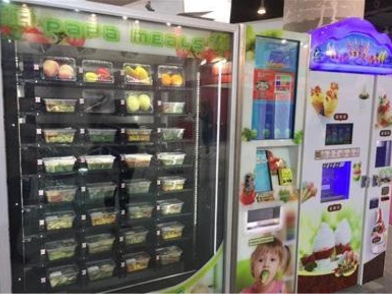 自动水果售卖机