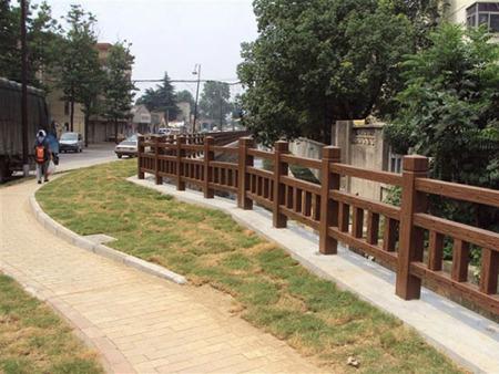 河北水泥仿木护栏_供应山东价格实惠的水泥仿木护栏