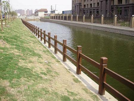 水泥仿木护栏-潍坊有品质的水泥仿木护栏哪里有供应