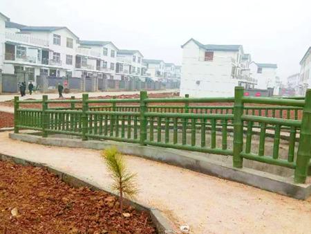 水泥仿竹护栏生产厂家|潍坊知名的水泥仿竹护栏提供商