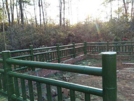 水泥仿竹护栏 好的春豪水泥制品供应-水泥仿竹护栏