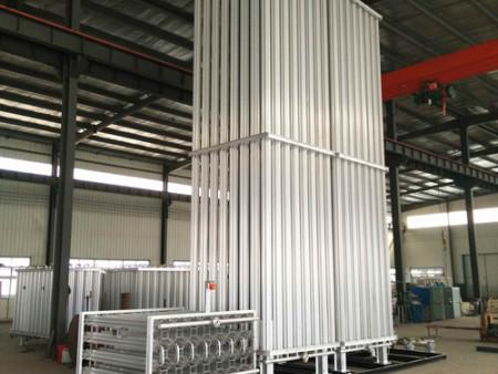 LNG空温式气化器图片|南宫制氧设备口碑好的LNG空温式气化器出售