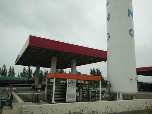 LNG气化撬装站报价|南宫制氧设备耐用的LNG气化撬装站出售
