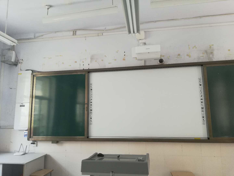 枣庄市滕州市壁挂式实物展台/高拍仪/推拉绿板电子白板批发