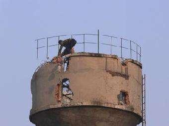 塔类拆除公司-专业的砖混水塔拆除哪里有