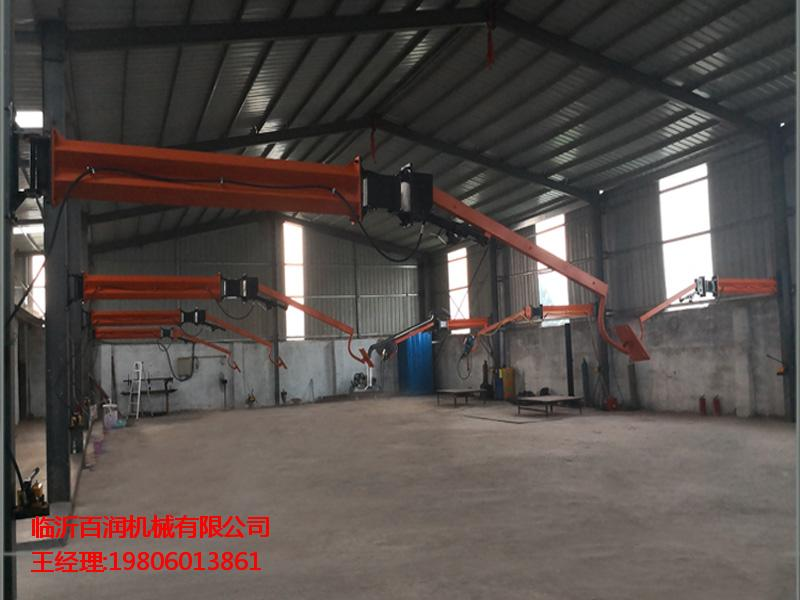 铁路机械焊接设备 临沂百润机械二保焊机悬臂架供应