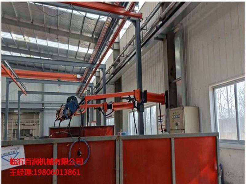 特种车辆制造焊接 临沂百润机械二保焊机悬臂架供应
