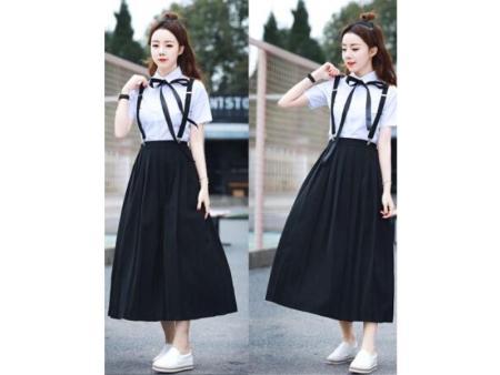 贵州中学生夏季校服厂家|优惠的小学生夏季校服要到哪儿买