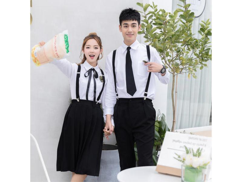 漳州中学生夏季校服价格-质量好的小学生夏季校服供应,就在柏利斯服饰