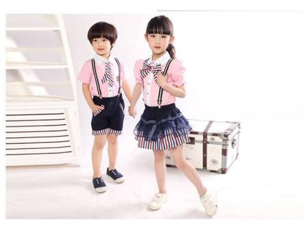 青海小学生夏季校服供应-柏利斯服饰供应物超所值的小学生夏季校服