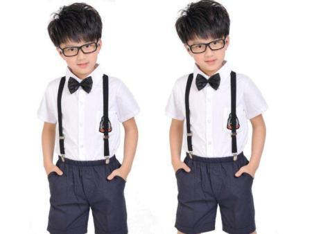 广东小学生夏季校服供应-柏利斯服饰供应口碑好的小学生夏季校服