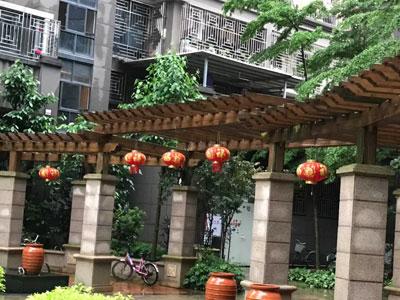 莆田马路花架-哪家制作的防腐木花架精美