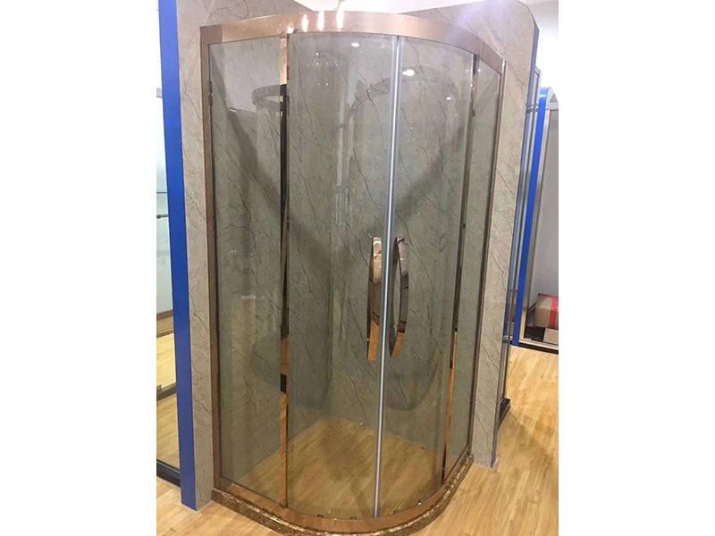 【我们有态度】浴室隔断弯玻璃,浴室隔断热弯玻璃,特能