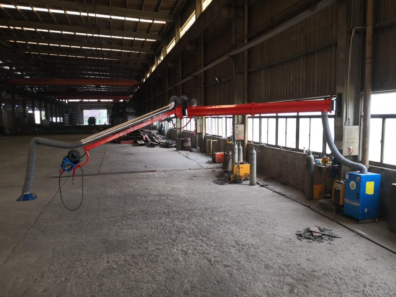 自動化設備焊接除塵器配套 焊接吸塵臂定位自鎖式技術專利