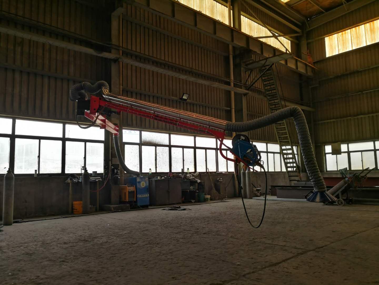 厂家直供送丝机悬臂架二氧化碳焊机吸尘臂专利悬臂摆动定位锁