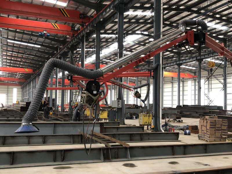 辽宁汽车制造焊接工业焊接机器人自动化设备 焊接吸尘臂优质商家