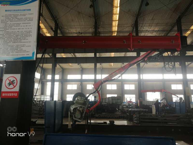 鋼結構焊接設備廠家送絲機焊接焊煙淨化吸塵臂代理空間懸臂定制