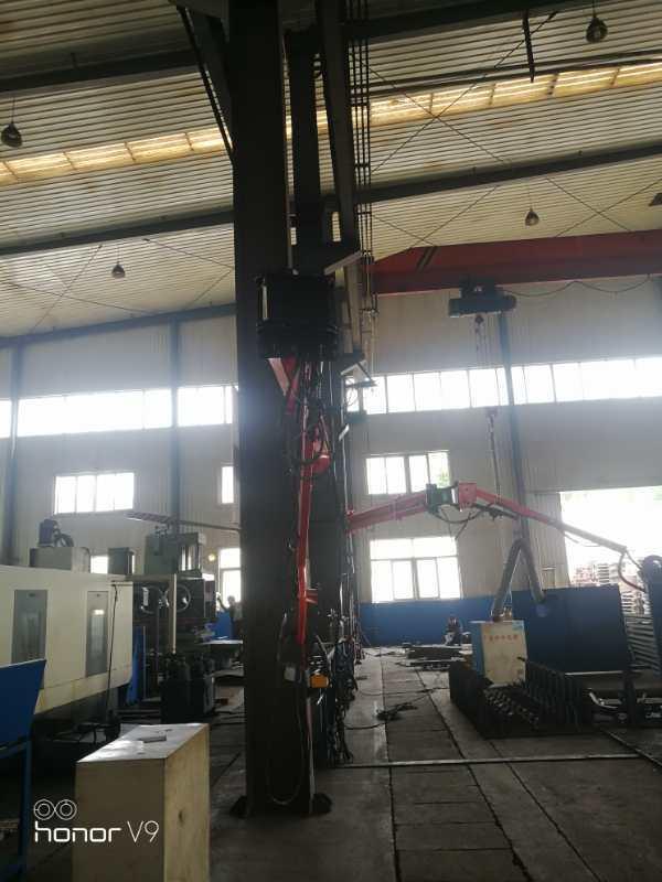 安徽汽车制造焊接工业焊接机器人自动化设备 焊接吸尘臂厂家定制