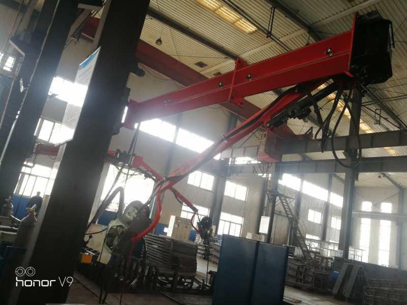 安徽桥梁机械环保焊接配套焊接吸尘臂360°旋转臂厂家批发