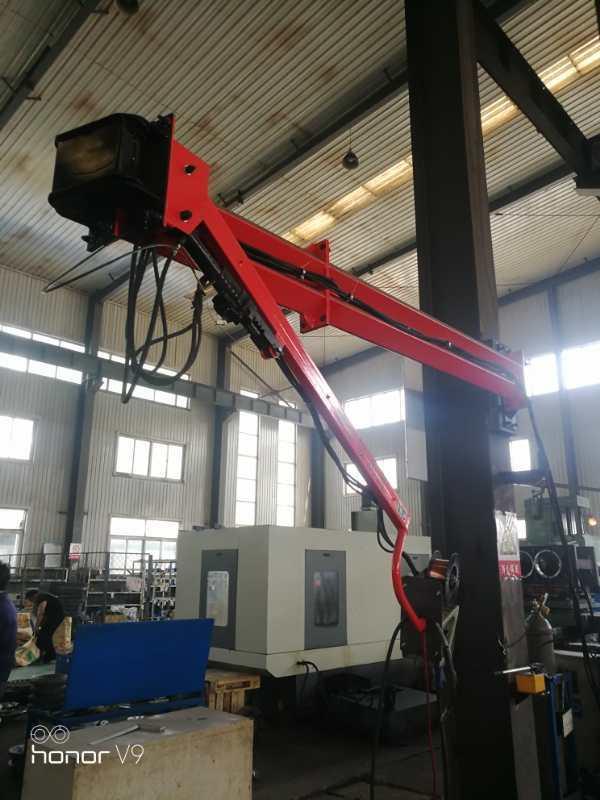 湖北新能源设备环保焊接配套焊接吸尘臂360°旋转臂厂家促销