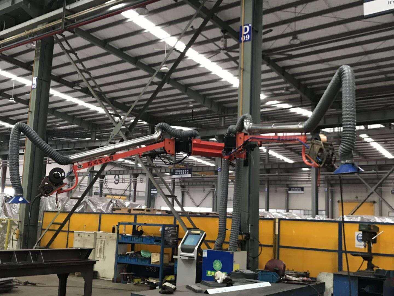 河北汽车制造焊接工业焊接机器人自动化设备 焊接吸尘臂优质商品