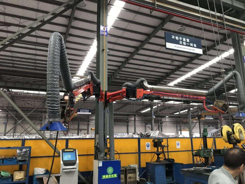 厂家直销送丝机悬臂架二氧化碳焊机吸尘臂代理特质升降安全锁