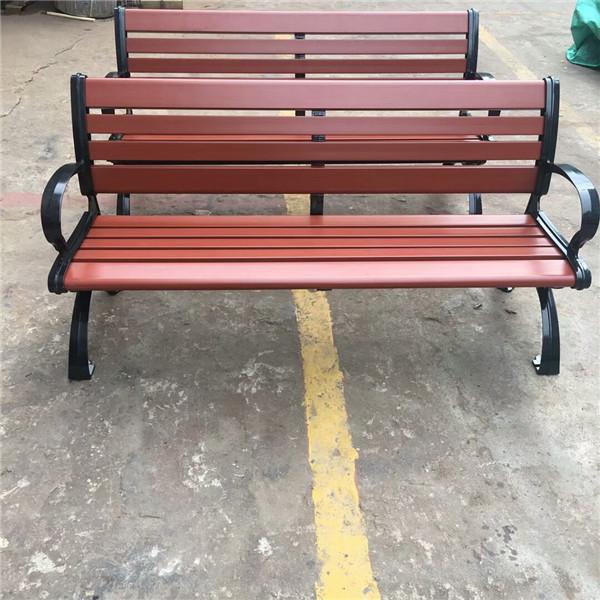江门不规则公园椅常规尺寸【景观木椅】批量定制厂家