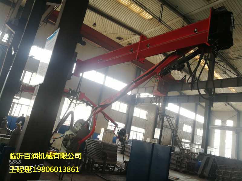 山西起重机械厂家吸尘焊接送丝机悬臂定位自锁式焊接吸尘臂代理