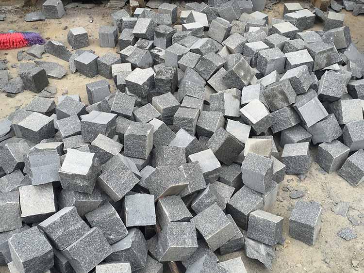老矿芝麻黑g654石材