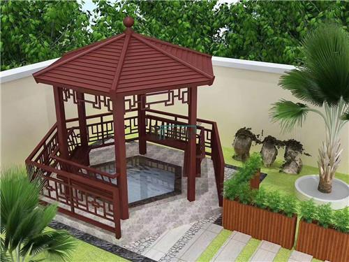 提供凉亭工程|有品质的凉亭工程新逸巢新型建材供应