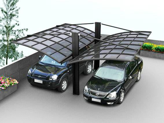 贵州铝合金车棚-实惠的铝合金车棚销售