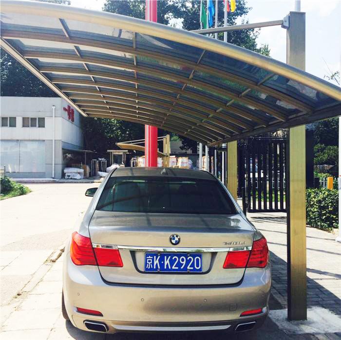 新型铝合金车棚-哪儿有卖质量硬的铝合金车棚