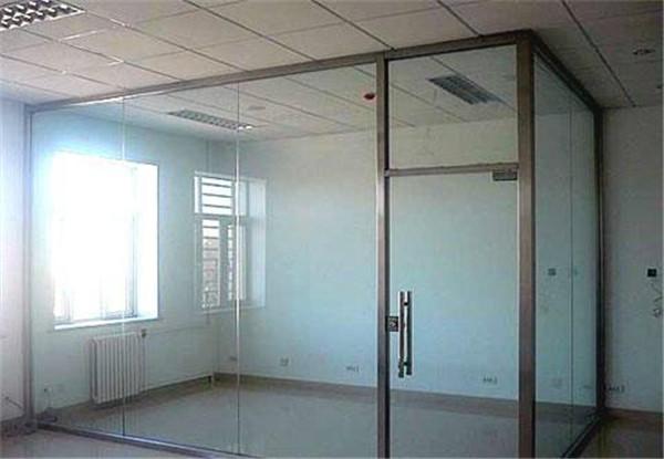 井陘單玻玻璃隔斷|石家莊雙玻磨砂玻璃隔斷供應商