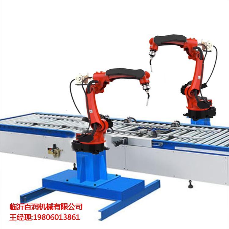 山东大型矿山机械设备焊接工业机器人焊接吸尘臂车架制造厂家促销