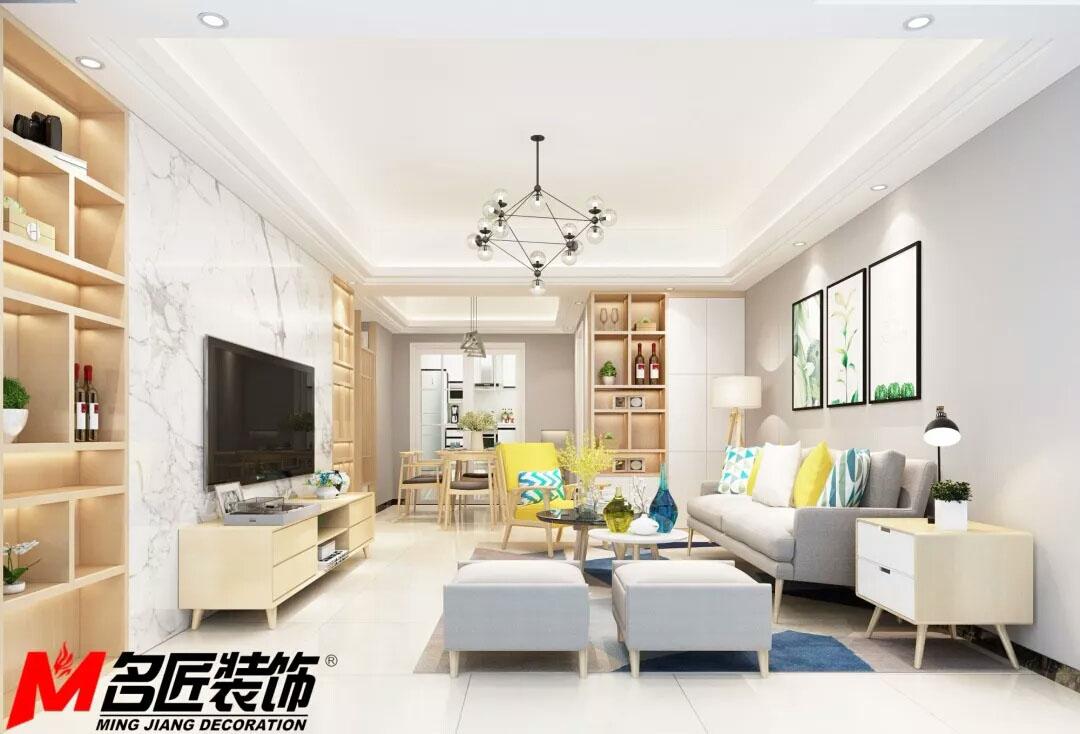 山东青岛黄岛家庭风格装修设计