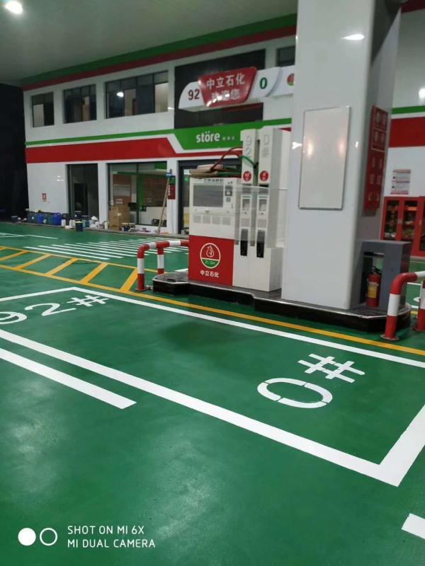 郴州停车场地坪漆施工哪里有欢迎联系安捷交通