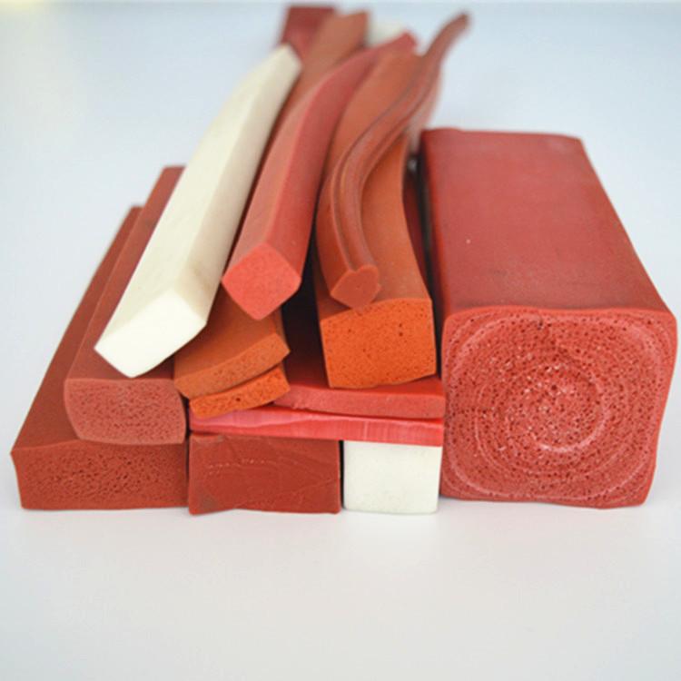 耐高温硅胶发泡密封条硅胶密封条耐多少度高低温