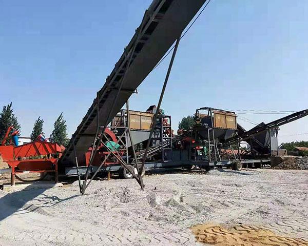 移动破碎制沙机多少钱【此时此刻需要】移动破碎制砂机加工哪家好