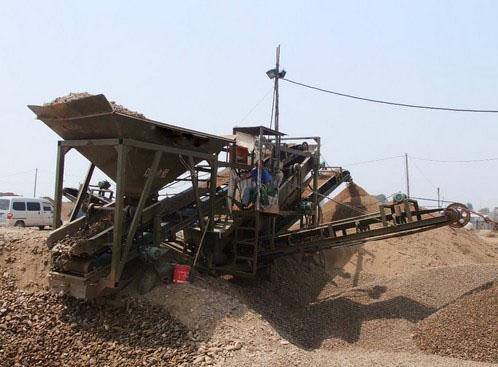 本溪小型移动筛沙机生产厂家