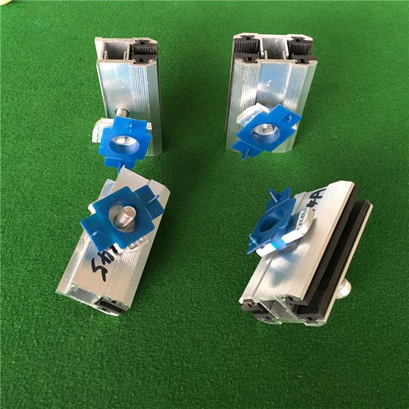 太阳能发电系统配件薄膜中压边压块光伏双玻电池板组件薄膜压块