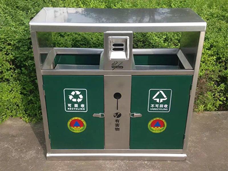 武都白云清洁垃圾桶厂家_兰州高质量的户外垃圾桶供应
