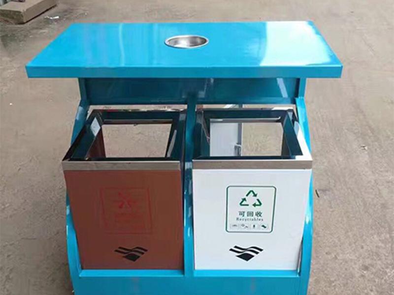 銀川垃圾桶-供應蘭州物超所值的分類垃圾桶