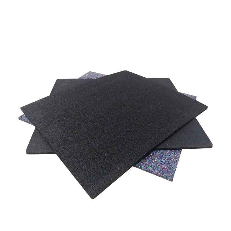 广州物超所值聚氨酯楼板橡胶geyin垫|合fei绿色建筑5厚pu橡胶ge声垫